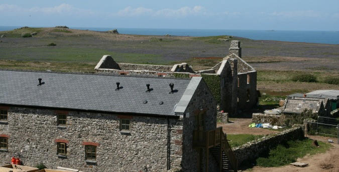 The old farm on Skomer Island