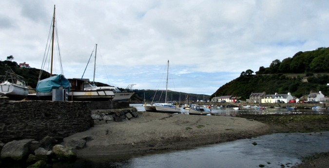 Fishguard lower harbour