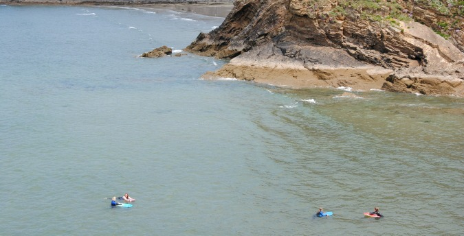 Pembrokeshire coast water fun