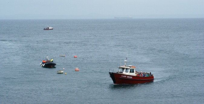 Boats St Brides Bay