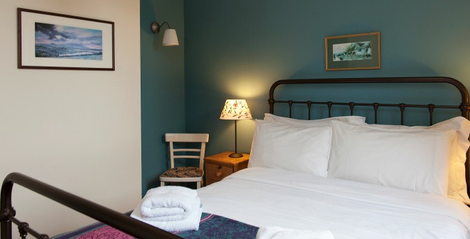 Double bedroom, The Coach House - a pet friendly holiday cottage at Rosemoor, Pembrokeshire, South West Wales