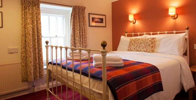 Double bedroom, Gardener's Cottage - a pet friendly holiday cottage at Rosemoor, Pembrokeshire, South West Wales