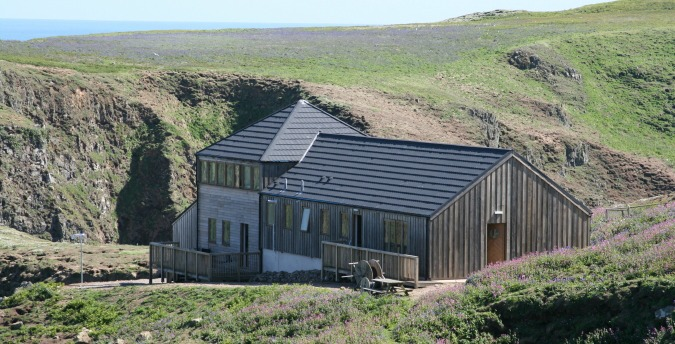 The Warden's house on Skomer Island