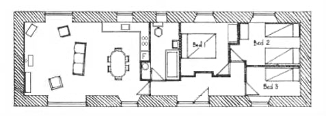 Plan of The Coach House