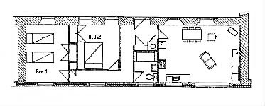 Plan of First Cottage