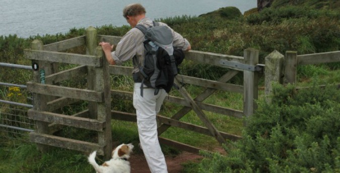 Walking the coastal Path, Pet friendly cottages in Pembrokeshire, luxury holiday cottages pembrokeshire