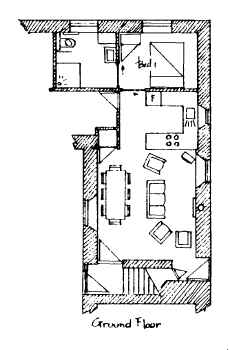 Plan of Apple Cottage Ground Floor